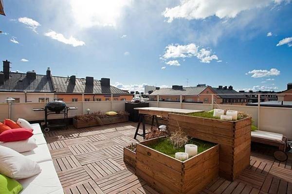 Interiorismo terrazas balcones azoteas patios interiores for Ideas para terrazas rusticas
